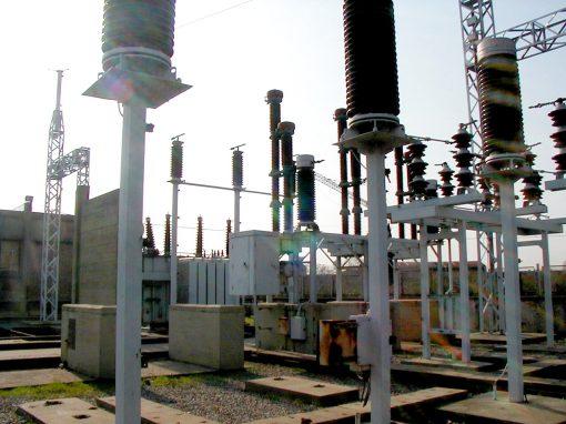 Sub estación eléctrica Aceros Angeletti